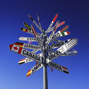 international-signpost